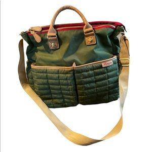 Maman Olive Green Diaper Bag